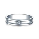【守护】 白18k金钻石结婚对戒