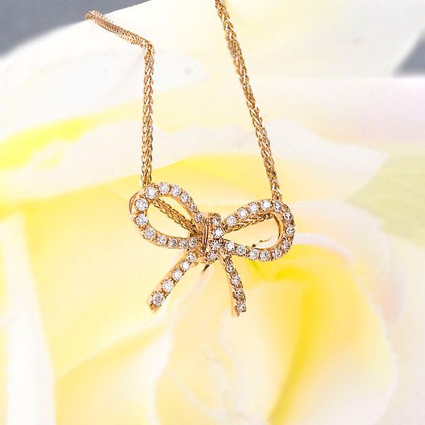 蝴蝶-玫瑰金女式吊坠