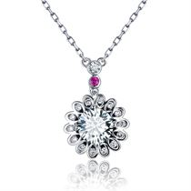 【摩天轮】系列 繁星四月同款白18k金钻石吊坠