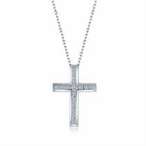 【信仰】 白18K金钻石吊坠
