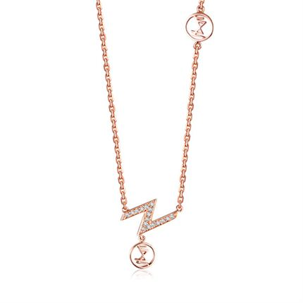 【Z系列】 玫瑰金女士项链
