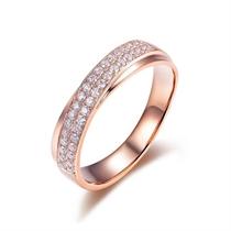【轨迹】 玫瑰18K金 钻石戒指