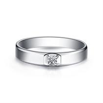 【灵动】 白18K金女士戒指