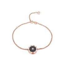 【时光里的爱】 玫瑰18k金时尚钻石手链
