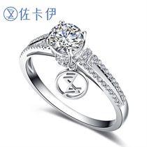 【摩天轮】系列 白18K金 钻石女士戒指