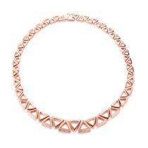 【咱们相爱吧】 18K金奢华钻石项链