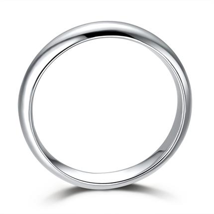 【气度不凡】 白18k金男士戒指
