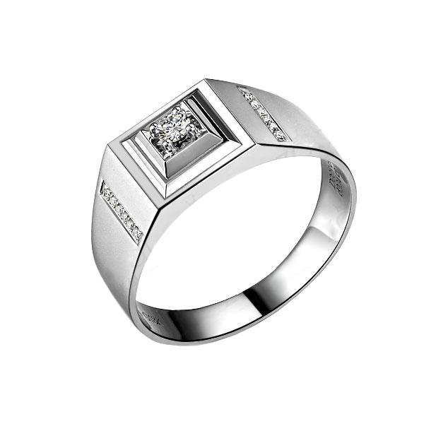 》》点击进入【风雅】 白18K金钻石戒指