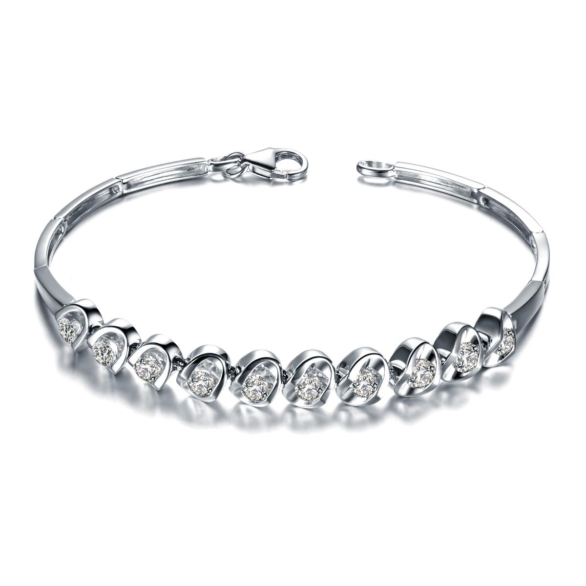 钻石手链,手链,佐卡伊手链,结婚纪念日礼物