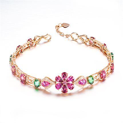 【虞美人】 玫瑰金手链