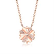 【听心】 玫瑰金3分/0.03克拉钻石女士吊坠