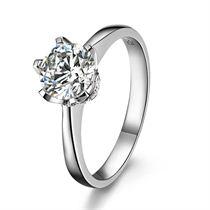 【爱之卫冕】 PT950铂金钻石戒指