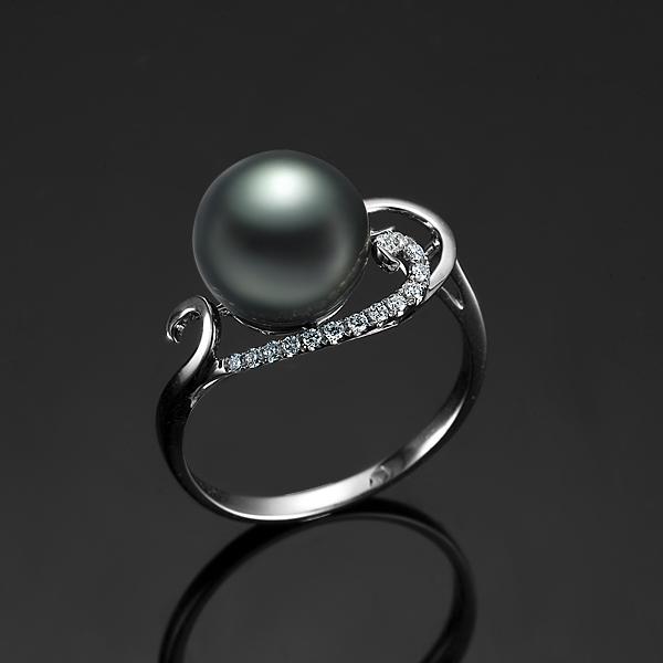 》》点击进入【奢华盛典】 天然大溪地黑珍珠戒指
