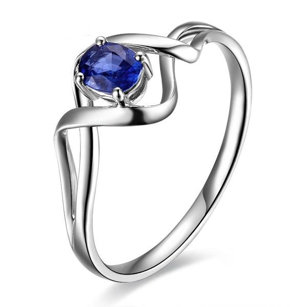 》》点击进入【环抱】 天然蓝宝石女士戒指