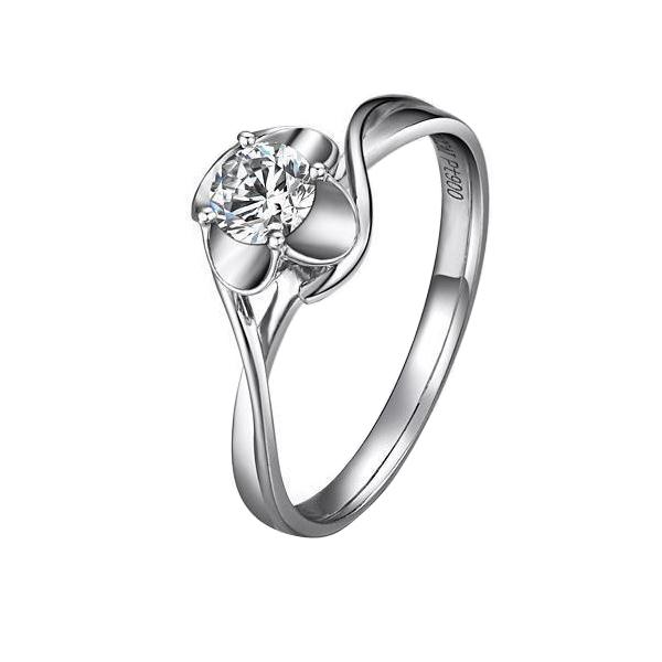 》》点击进入【年华】 PT950铂金31分/0.31克拉钻石戒指