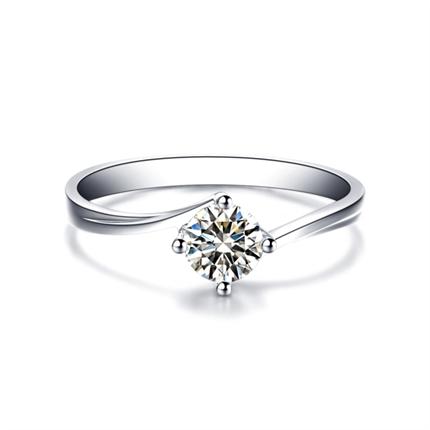 【传世经典】 PT950铂金钻石戒指