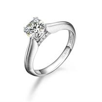 【无尽的爱】 PT950铂金101分/1.01克拉钻石戒指