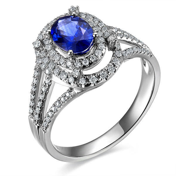 》》点击进入【蓝色妖姬】天然蓝宝石女士戒指