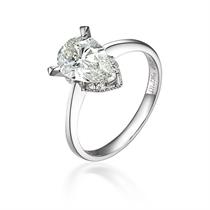 【天使的爱】 PT950铂金101分克拉钻石戒指
