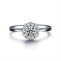 【触电】系列 白18K金钻石女士戒指