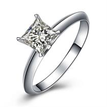 【流年】 白18k金 钻石女士戒指