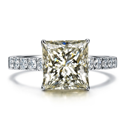 【爱神之语】 白18k金 钻石戒指