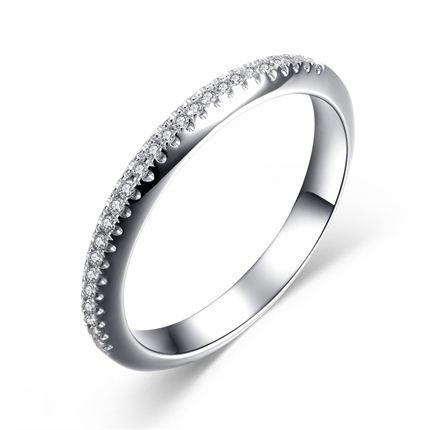 【守护】 白18K金女士戒指