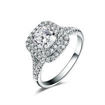 【爱之密语】 白18K金 钻石戒指