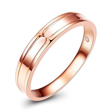 【豆瓣】 玫瑰18K金石女士戒指