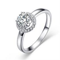 【星空】 白18K金50分/0.5克拉钻石