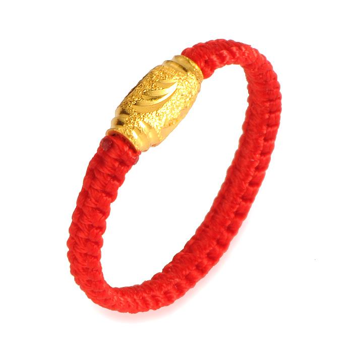 黄金转运珠戒指价格