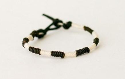 简单手绳的编法图解 简单手绳的编法教程
