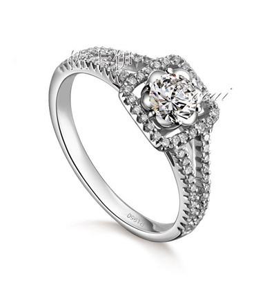 钻石婚戒有什么寓意  佩戴钻石婚戒代表的意义