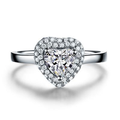 心形钻戒有什么寓意  佩戴心形钻戒代表的意义