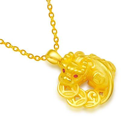 黄金貔貅吊坠有什么寓意  佩戴黄金貔貅吊坠代表的意义