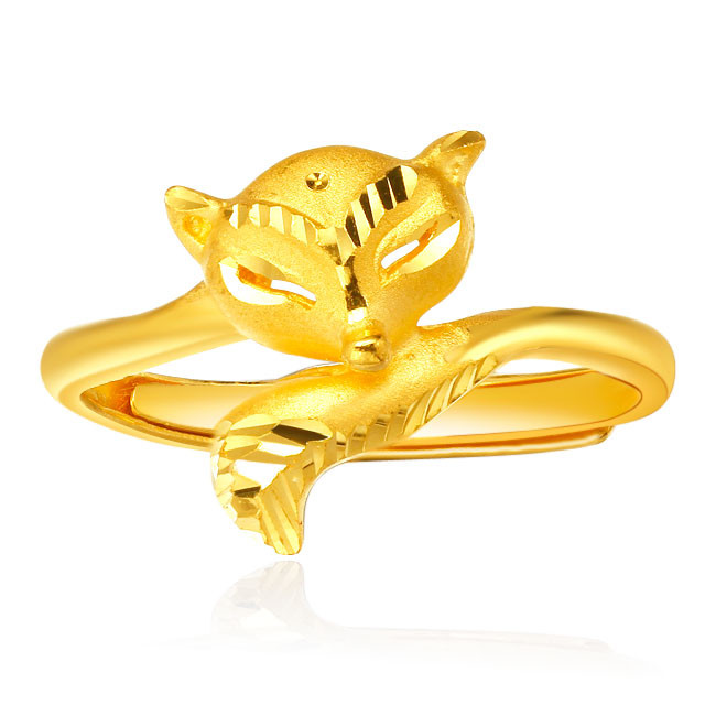 黄金狐狸戒指有什么寓意  佩戴黄金狐狸戒指代表的意义