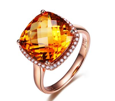 黄宝石有什么寓意  佩戴黄宝石代表的意义