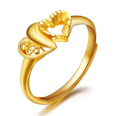 黄金结婚戒指款式有哪些  黄金结婚戒指什么款式好