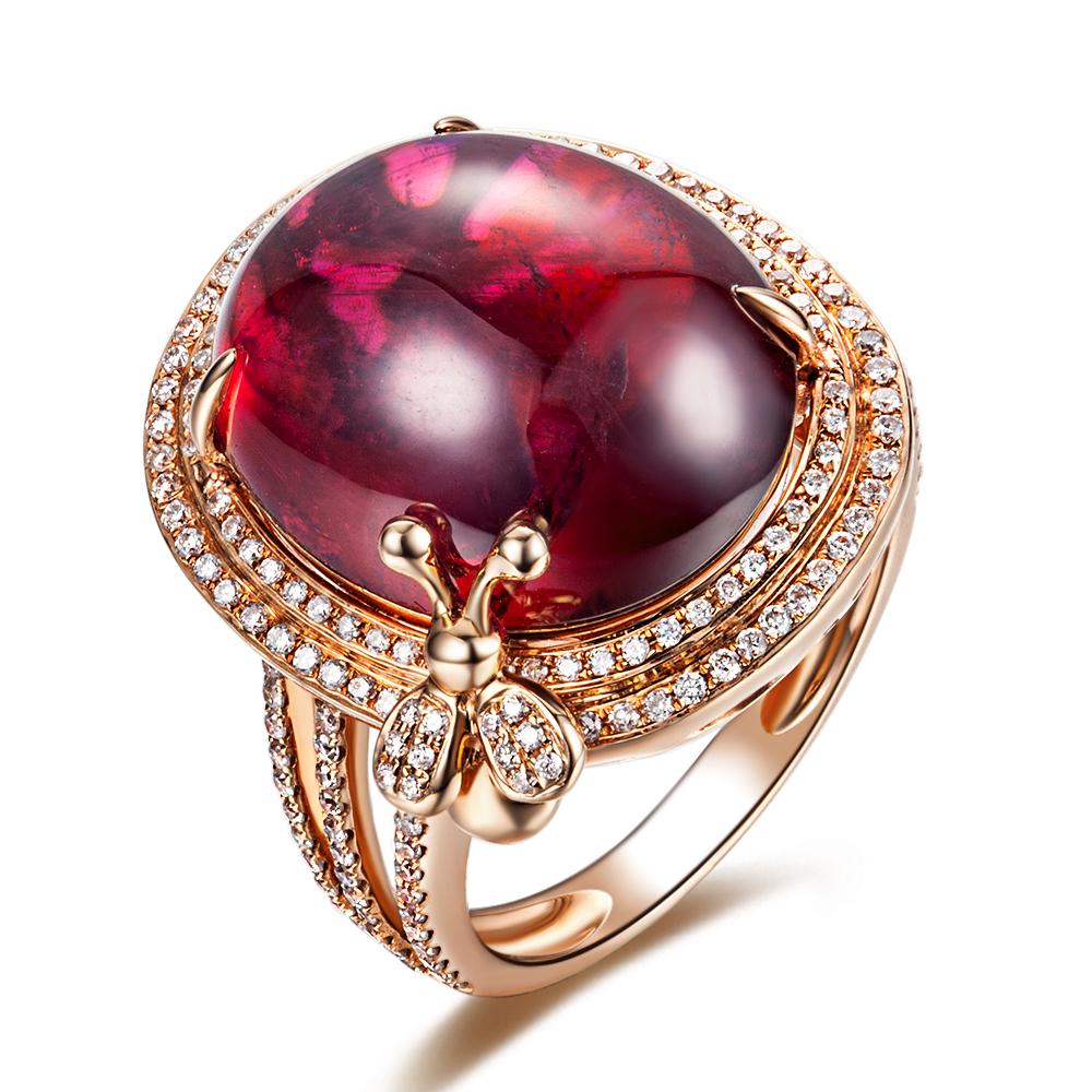 彩宝戒指镶嵌款式  彩宝戒指怎么样