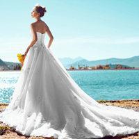 拍婚纱照怎么选婚纱 不同体形新娘挑选婚纱技巧