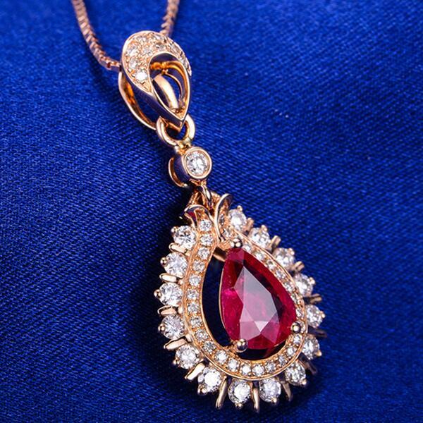 红宝石吊坠如何保养 红宝石吊坠保养方法