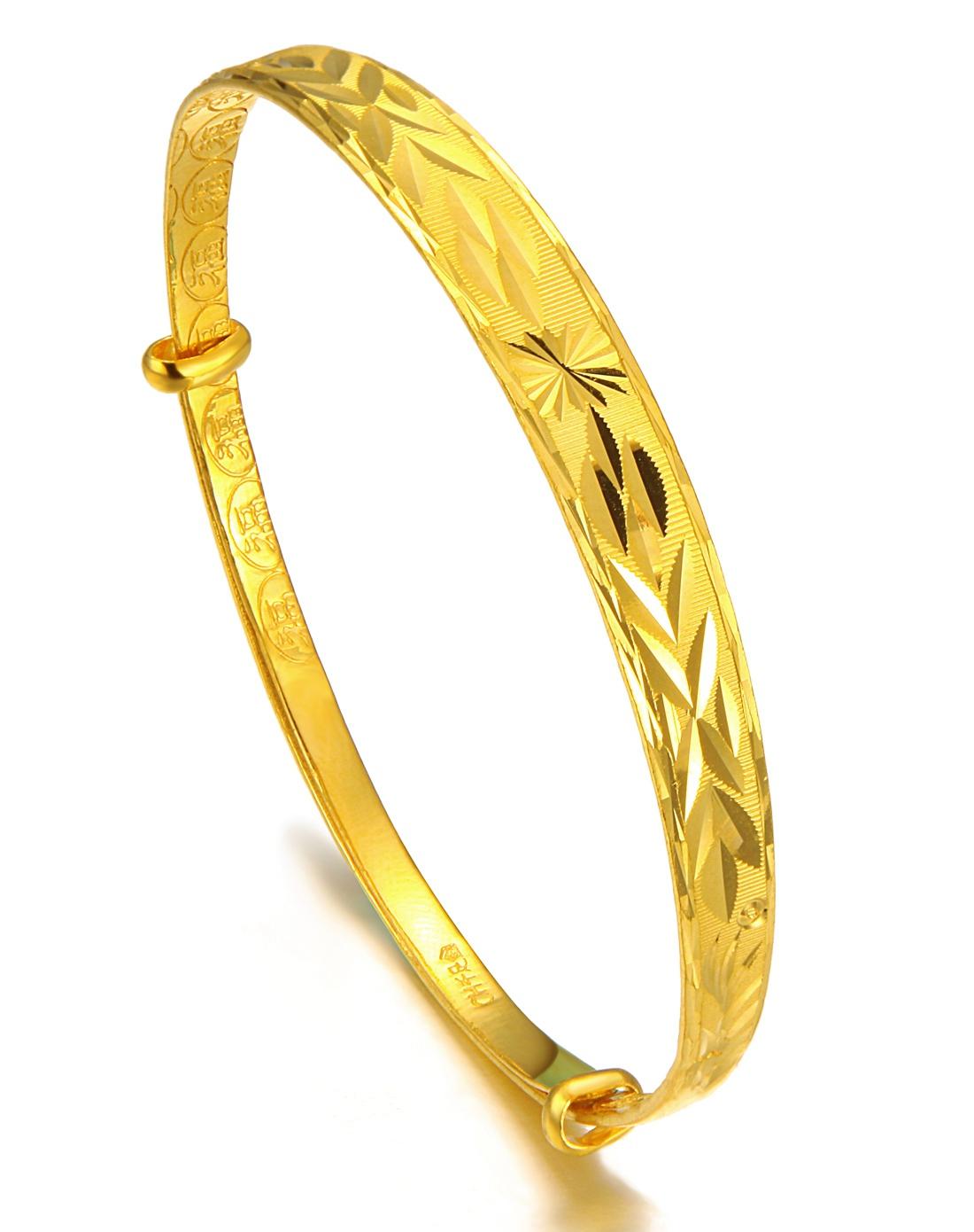 新娘结婚的黄金手镯都有什么款式