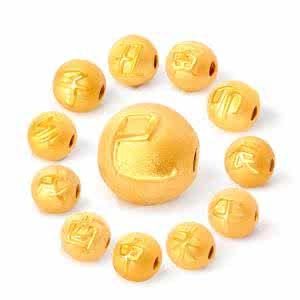 黄金转运珠怎么串好看 黄金转运珠串几颗