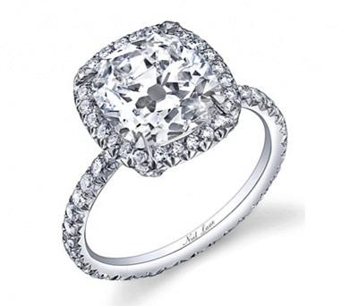如何根据钻石火彩来鉴别假钻石