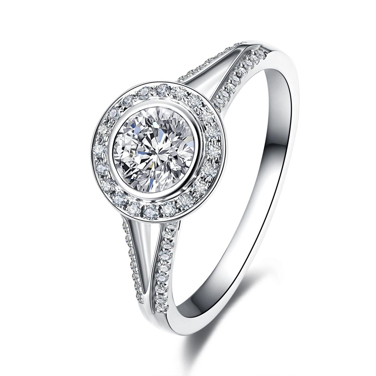 镶嵌钻石到底是铂金好还是黄金好