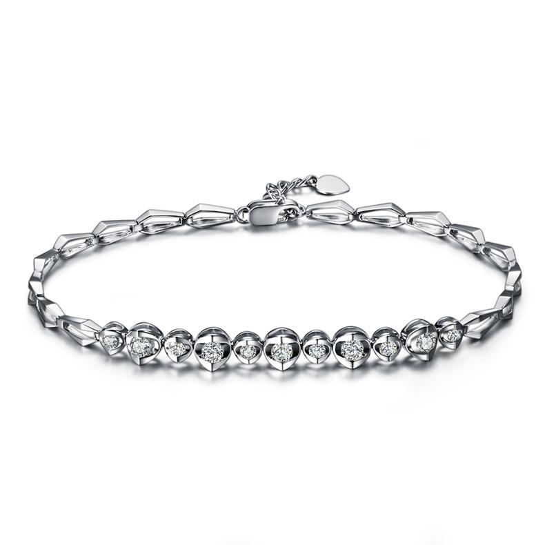如何进行铂金钻石手链挑选