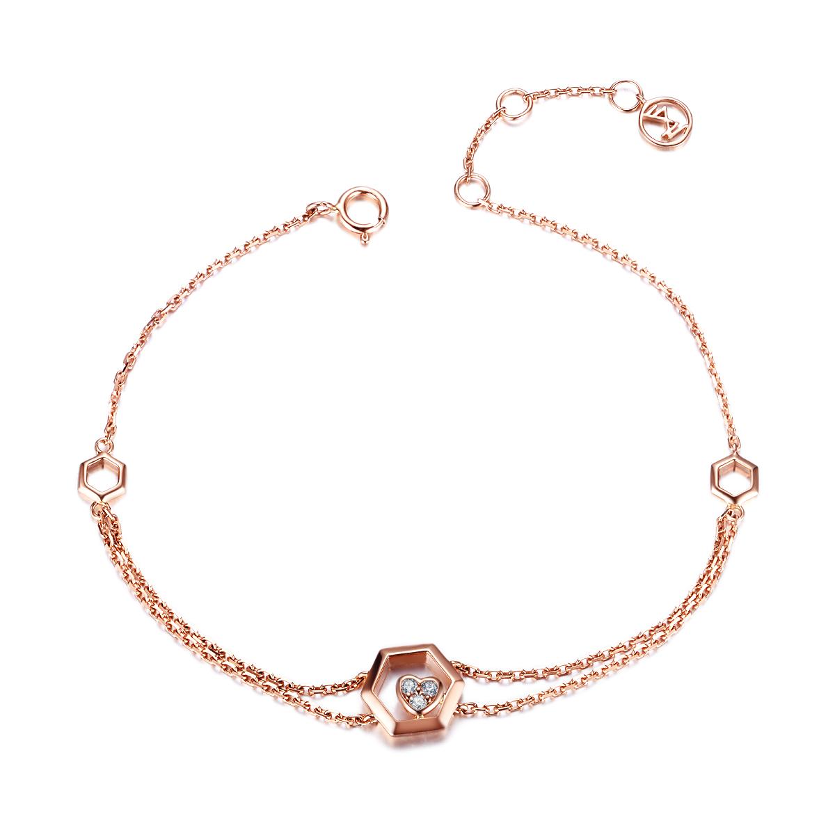 钻石手链定制的方法及流程