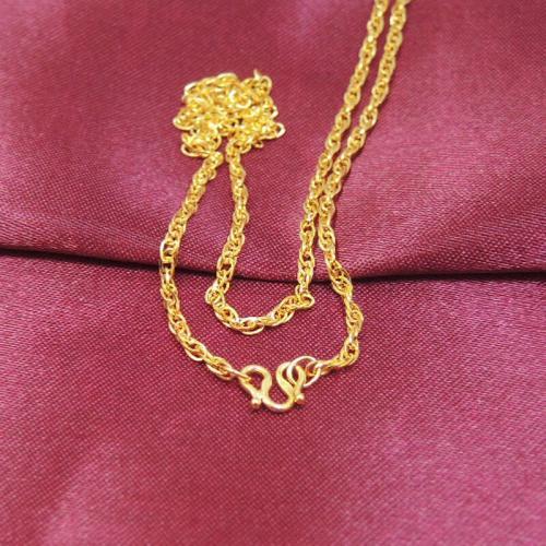 女士选购黄金项链的四个小窍门