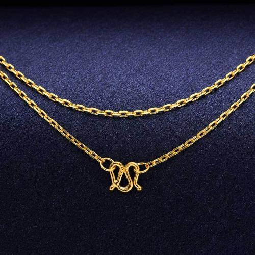 项链白金的好还是黄金的好