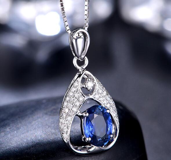 蓝宝石吊坠知识 佐卡伊蓝宝石吊坠